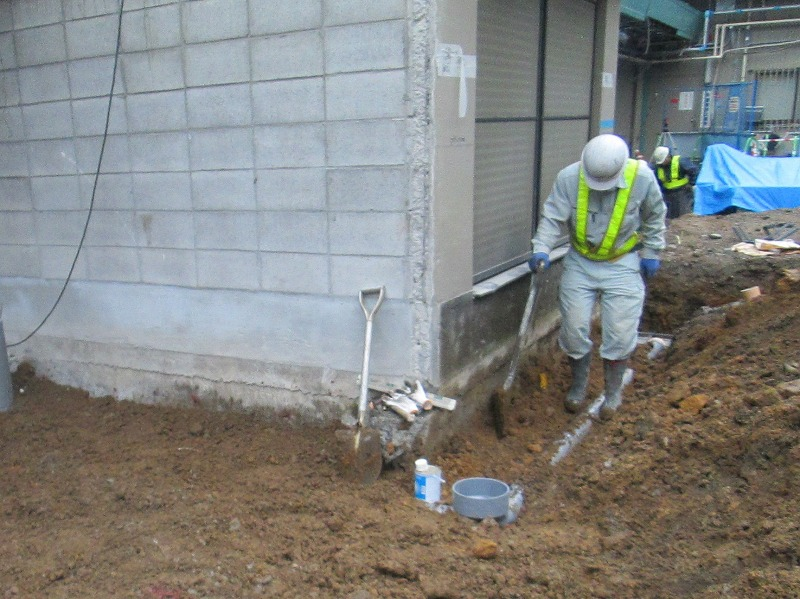 埋設排水管